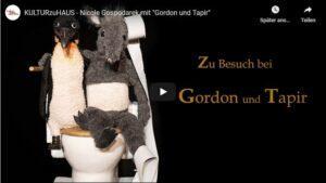 Gordon und Tapir #KULTURzuHAUS